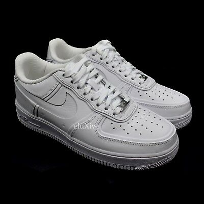 ad7227ab183907 NWT Nike Air Force 1 John Elliott White Leather Men s Sneakers 2018 DS  AUTHENTIC