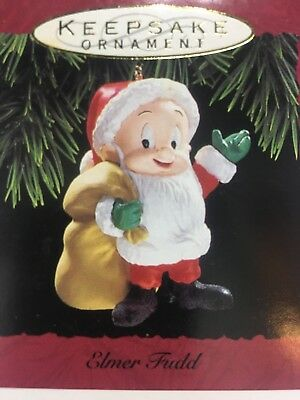 Hallmark 1993 Elmer Fudd Looney Tunes Collection Keepsake Christmas Ornament