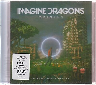 CD - Imagine Dragons ORIGINS International Deluxe Edition NEW USA BRAND NEW!