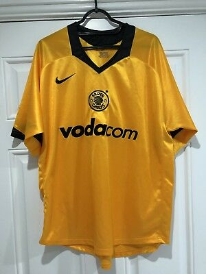 2004-05 Kaizer Chiefs Home Shirt - Large