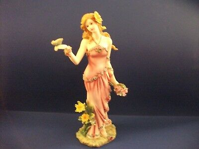 Homco Home Interiors 2004 LADY FIGURINE SUMMER 12228