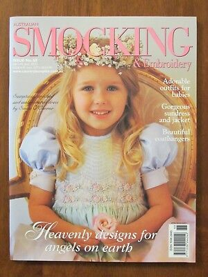 Australian Smocking & Embroidery - Issue #68 2004 Dress & Jacket Bargello Romper