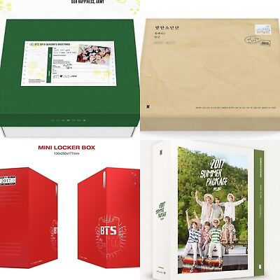 Bts 2019, 2018, 2017 Summer Package, Seasons Greetings (Options) [Kpoppin Usa]