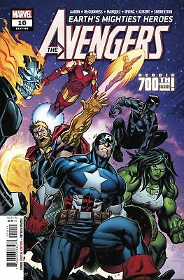Avengers #10  Marvel Comic Book  2018  1st Print  Nm