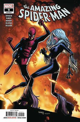 The Amazing Spider-Man #9  Marvel Comic Book  2018  1st Print  Nm