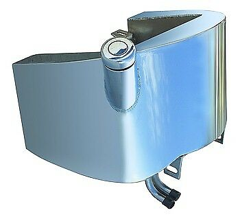 Ultima Chrome Plated Smooth Top Oil Tank For Softail 1984-1999 OEM 62498-89A