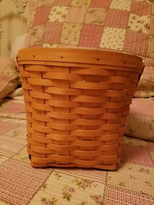 """Longaberger 9"""" Measuring Basket with Protector Excellent Condition"""
