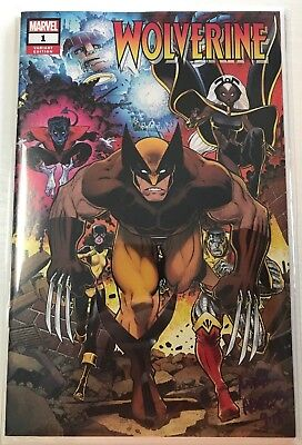 Return of Wolverine #1 NM Beautiful Arthur Adams Signed Autograph Variant cover
