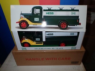 2018 HESS 85th Anniversary Collector's LIMITED Edition 1st HESS Truck NO RESERVE