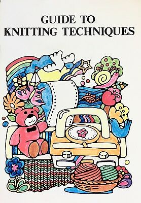 GUIDE TO KNITTING TECHNIQUES by Silver Knitting Institute - Vintage Reference
