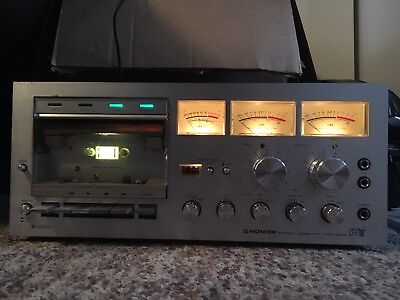 Pioneer Stereo Cassette Tape Deck CT-F700