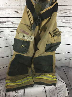Globe G-XTREME Firefighter Bunker Turnout Pants 42 x30 w/ Therma Liner (ID 6002)