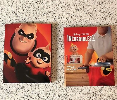 The Incredibles 2 (4K UHD/Bluray) *Target Limited-Edition Case* **LIKE NEW**