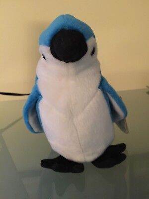 Ty Beanie Baby ROCKET The Blue Jay Retired 1997