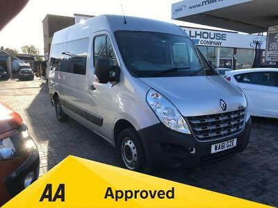 2012 61 Renault Master 2.3 Mm33 Dci S/r Automatic Wheel Chair Access Heater Air