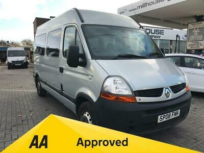 2008 08 Renault Master 2.5 Mm33 Mwb L/c Wheel Chair Access Heater Air Conditioni