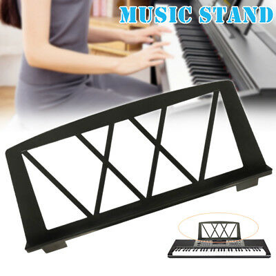 Portable Keyboard Music Score Stand Holder Sheet Musical Instrument Parts