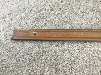 VTG IP HYDE WALLPAPER HANGERS RULER 6FT  Made in USA