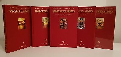 Wasteland Library Graphic Novels Volumes 1-5