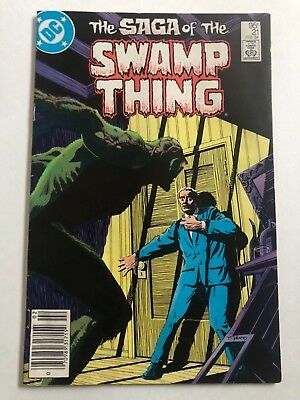 Saga of the Swamp Thing # 21 DC Canadian Price Variant VHTF RARE ONLY 1 ON EBAY!