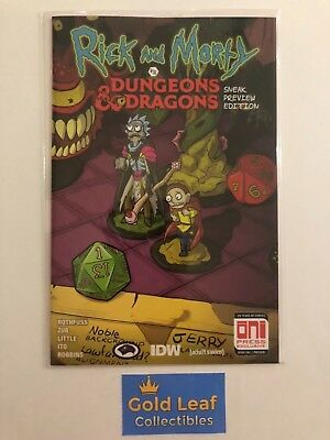 Rick and Morty vs Dungeons and Dragons # 1 Gencon Exclusive NM Variant ONI Press