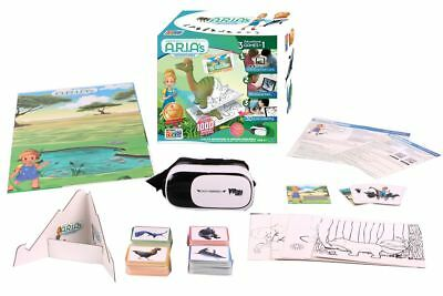Aria Adventures AR/VR Educational 3in1 Game Augmented Virtual Reality 3D