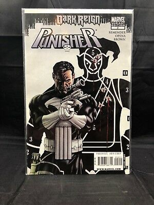 Punisher #2 Dark Reign Variant vol.8