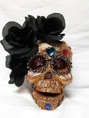 Day of the Dead Sugar Skull Mexican Folk Art Dia De los Muertos