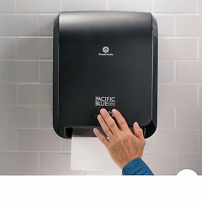 """Ultra Automated Paper Towel Dispenser, 59590, 12.9"""" W x 8.7"""" D by 15.5"""" H black"""