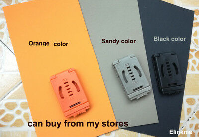 """1.5mm (0.06"""") Thick multicolor KYDEX Sheet Thermoplastic Forming with clips"""