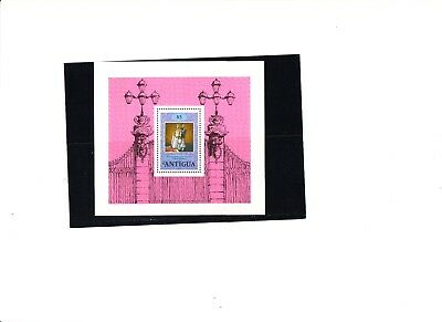 "Antigua,  1978, ""25Th Of Qeii Coronation""  S/s And Stamp Set, Mint Nh. Fresh"