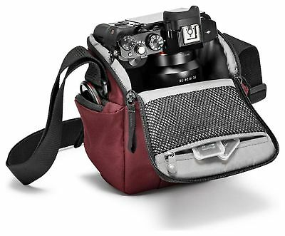 Manfrotto Holster Compact System Camera Bag - Red.