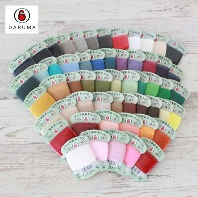 Daruma 56 perfect color thread for Quilting,needlework, sashiko, Choose from one