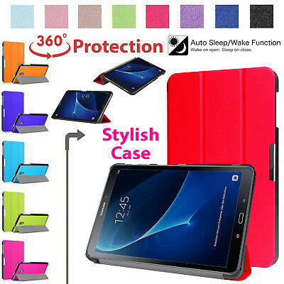 Ultra Slim Cover Compatible For Galaxy Tab A6 10.1 Inch SM-T580/T585 Smart Case