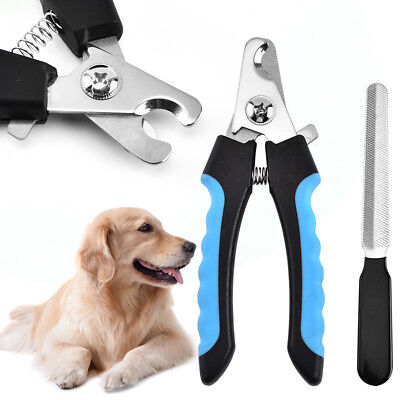 Pet Dog Cat Rabbit Bird Guinea Pig Claw Nail Clippers Trimmers Scissors Easy Use