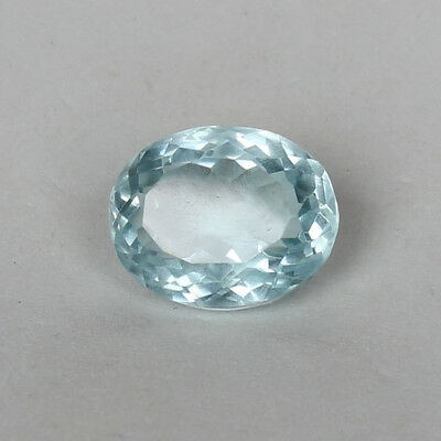 17.55 Ct. Natural Aquamarine Greenish Blue Color Oval Cut Certified Loose Gems