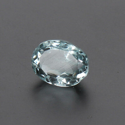 5.90 Ct. Natural Aquamarine Greenish Blue Color Oval Cut Certified Loose Gems