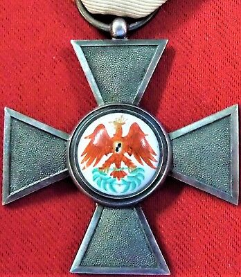 *VINTAGE & RARE WW1 GERMAN PRUSSIAN ORDER OF THE RED EAGLE 4th CLASS MEDAL