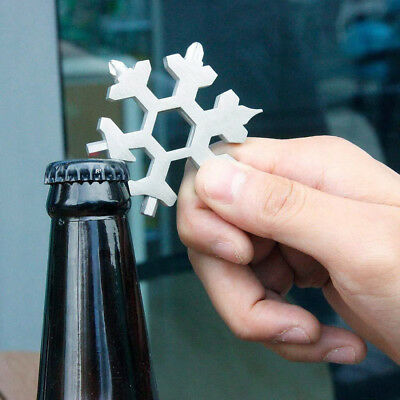 19-in-1 Multi-tool Wrenches Combination Compact Portable Outdoor Snowflake