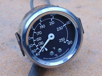 Classic Water Temperature Gauge Stationary Engine Lorry Tractor