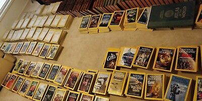 Large National Geographic Magazine Collection