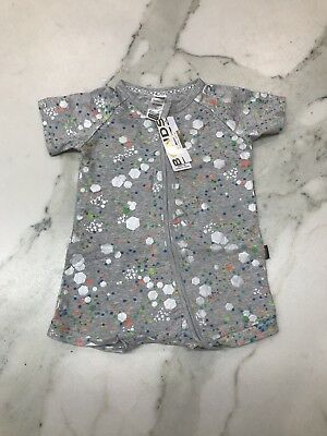 BNWT Bonds Zip Romper Wondersuit Size 18-24 Months (2) Limited Edition