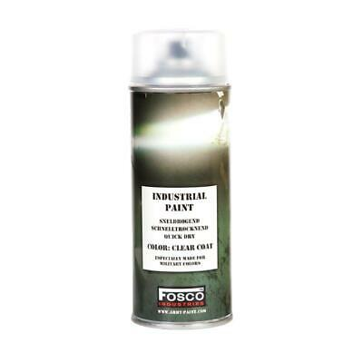Bombe De Peinture Militaire Spray Fosco 400 Ml Clear Coat Varnish Vernis Transpa