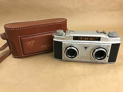 TDC STEREO COLORIST II CAMERA w/ 35mm F/3.5 RODENSTOCK TRINAR LENS - SUPER CLEAN