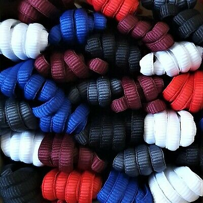 Oval trainer shoe laces ideal for Adidas, New Balance, Nike, 75 cm - 140 cm