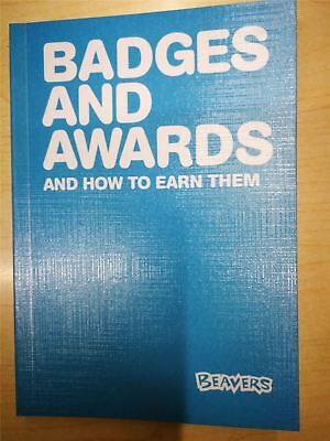Beavers Badges and Awards Book Latest Edition No 5 2018