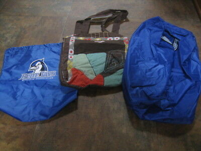 Lot of 3 Carry Bags, Different Styles