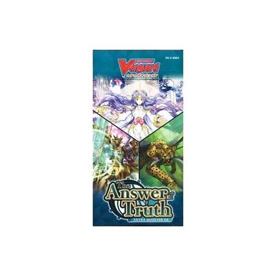 30287 VG-V-EB04 Cardfight Vanguard Extra Booster The Answer of Truth 12Pack BOX