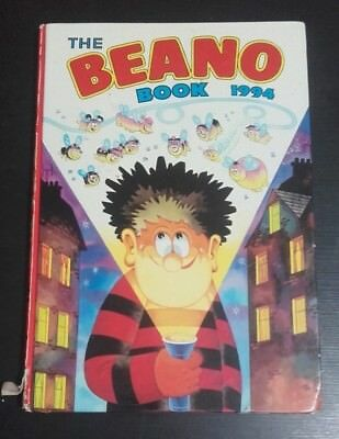 The Beano Book 1994 Annual Vintage U.K Comic Book Pre-owned
