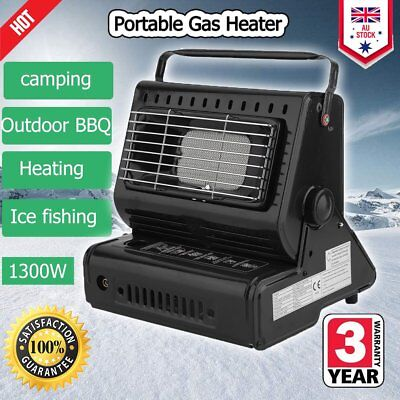 Portable Butane Gas Heater Camping Camp Tent Hiking Outdoor Camper Survival Q1Q